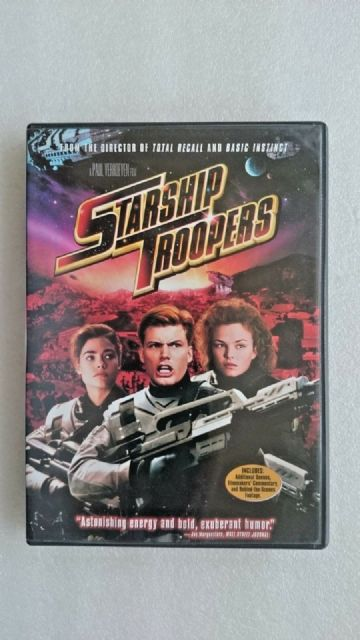 Starship Troopers  (Double Sided DVD Region 1)